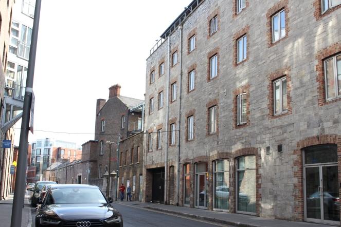 Back streets of Dublin