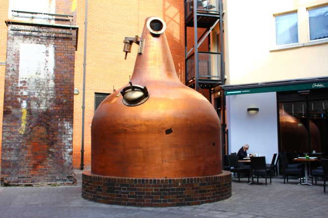 Old Pot Still at Jameson Distillery