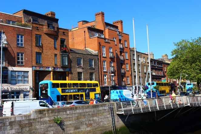 Along the River Liffey
