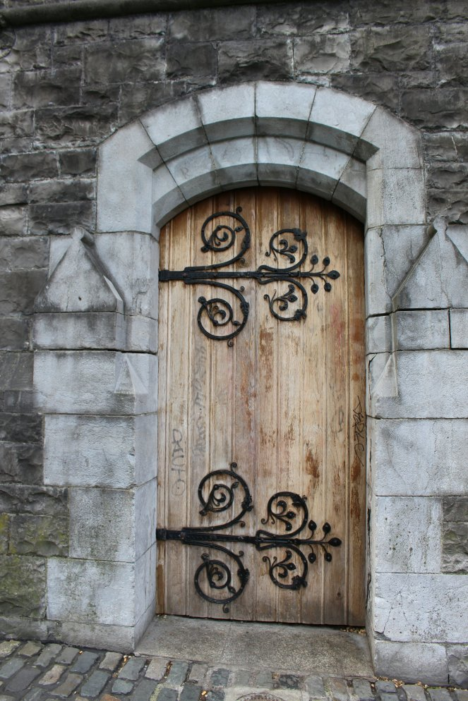 Door at Christ Chruch Cathedral